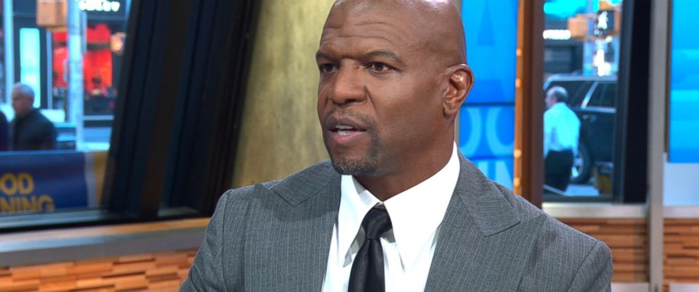 "PHOTO: Terry Crews speaks out on ""Good Morning America"" about an alleged incident in which he says a ""high-level Hollywood executive"" groped him at a party."