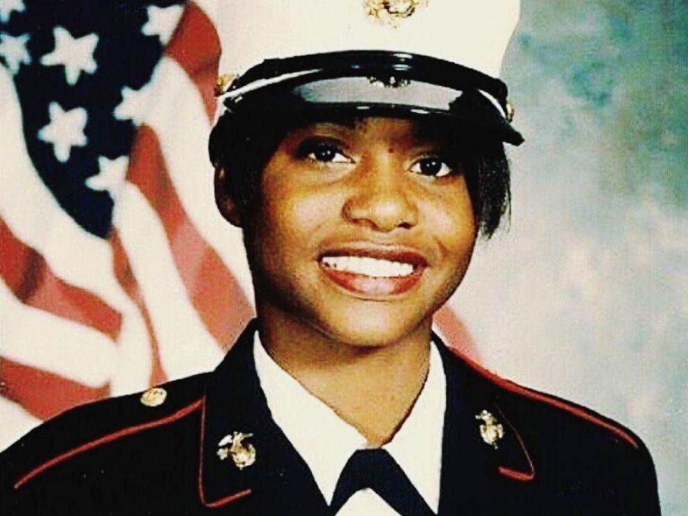 PHOTO: United States Marine Corps veteran Tess Rutherford.