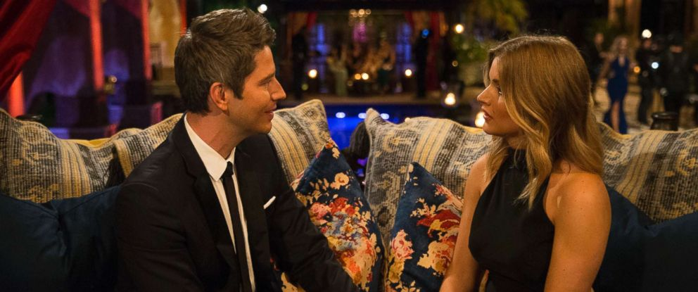 """PHOTO: Arie Luyendyk Jr. and Chelsea are pictured in a scene from """"Episode 2201"""" of """"The Bachelor."""""""