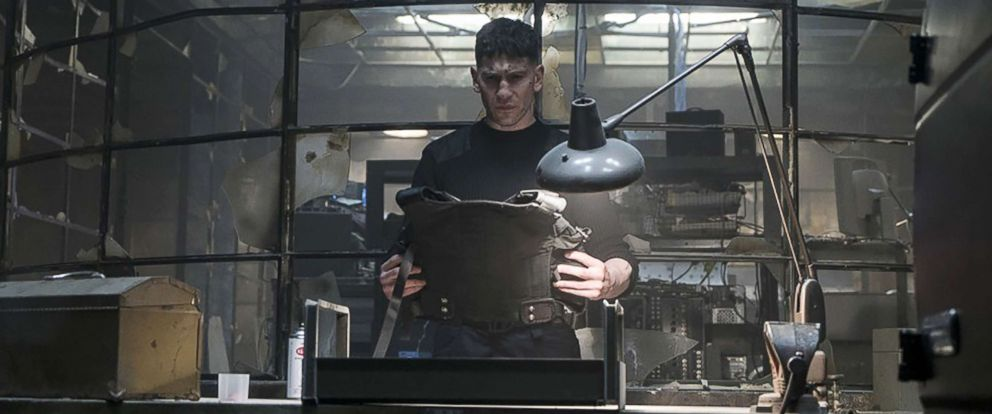 """PHOTO: Jon Bernthal appears in a scene from """"The Punisher."""""""