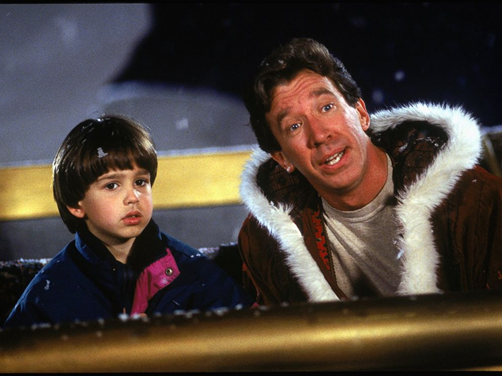 PHOTO: The Disney movie, The Santa Clause, starring Tim Allen and Eric Lloyd, 1994.