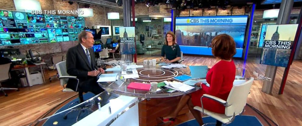 PHOTO: Charlie Rose speaks on CBSs This Morning with Gayle King and Norah ODonnell, Nov. 21, 2017.