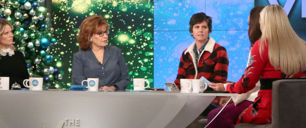"""PHOTO: Comedian Tig Notaro opened up about her relationship with mentor Louis C.K. on """"The View."""""""