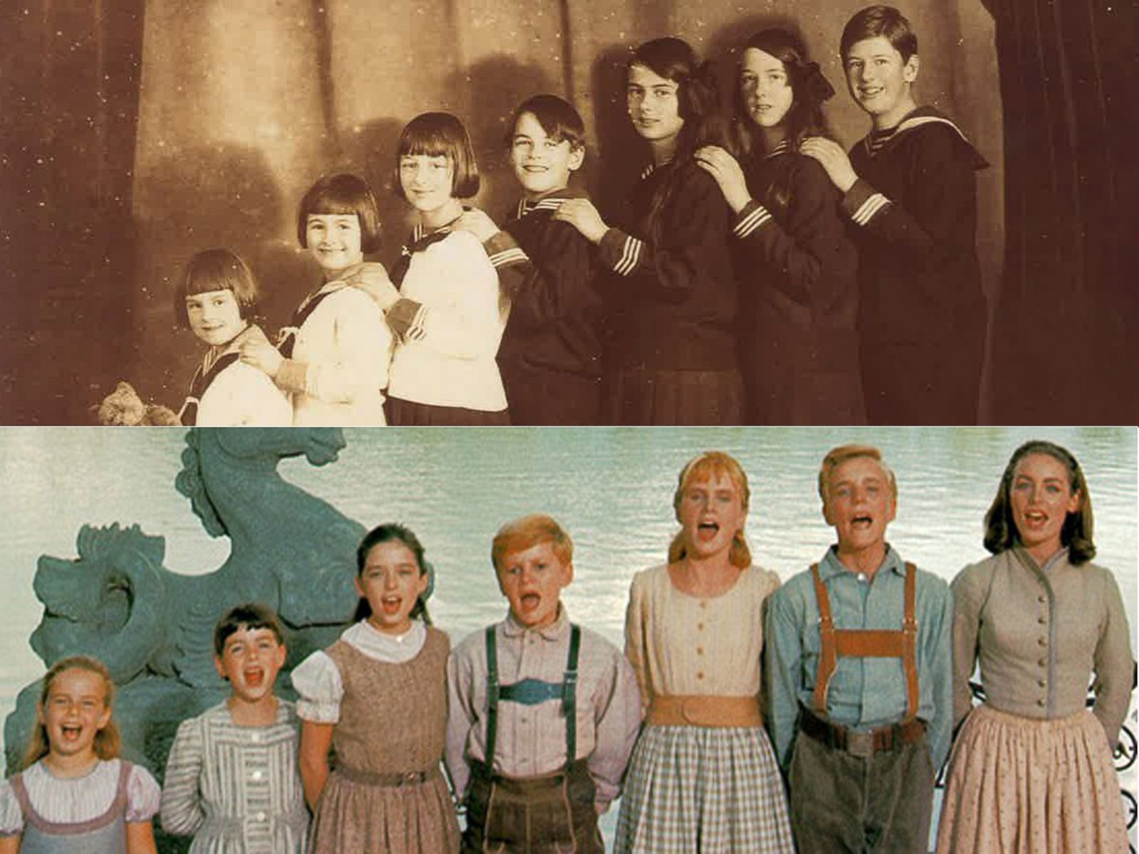 the sound of music how the movie compares to the real von trapps