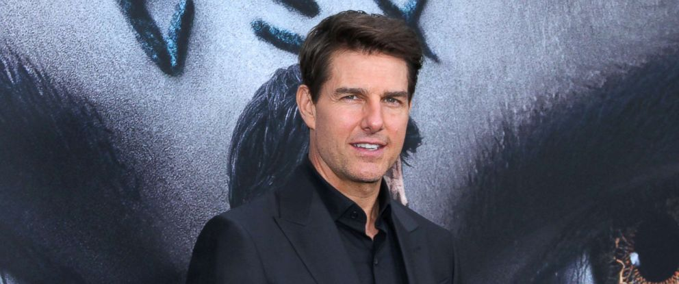 """PHOTO: Tom Cruise attends """"The Mummy"""" Fan Event at AMC Loews Lincoln Square, June 6, 2017 in New York City."""