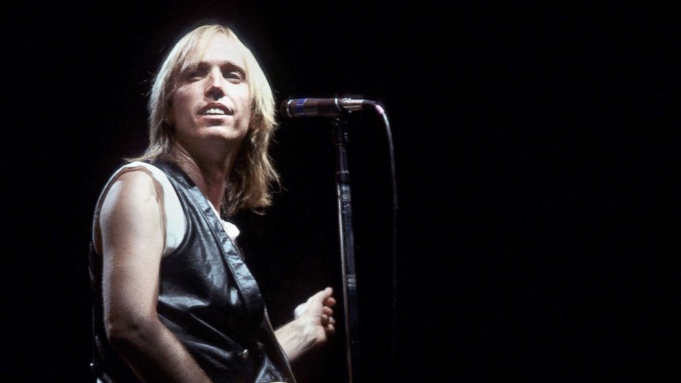 Rock legend Tom Petty ...