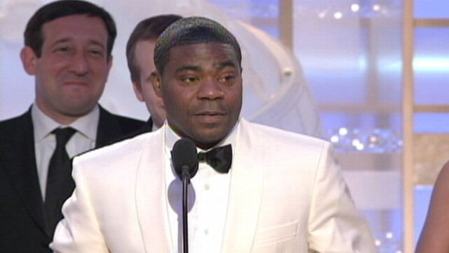 VIDEO: Tracy Morgan reportedly said hed kill his son if he was gay during club show.