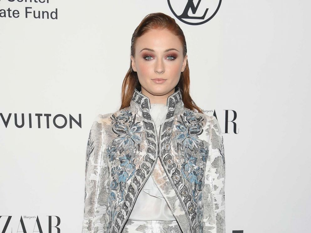 PHOTO: Sophie Turner attends An Evening Honoring Louis Vuitton and Nicolas Ghesquiere at Alice Tully Hall at Lincoln Center, Nov. 30, 2017, in New York.