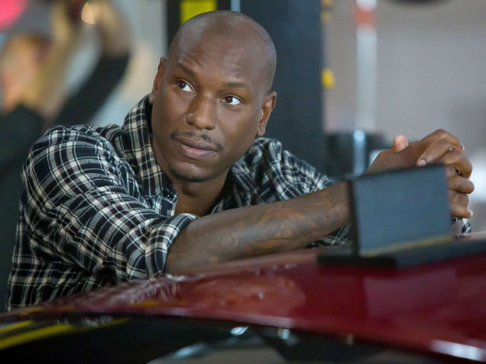 PHOTO: Tyrese Gibson as Roman in The Fate of the Furious.