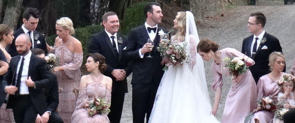Kate Upton and Justin Verlander share 1st wedding portrait