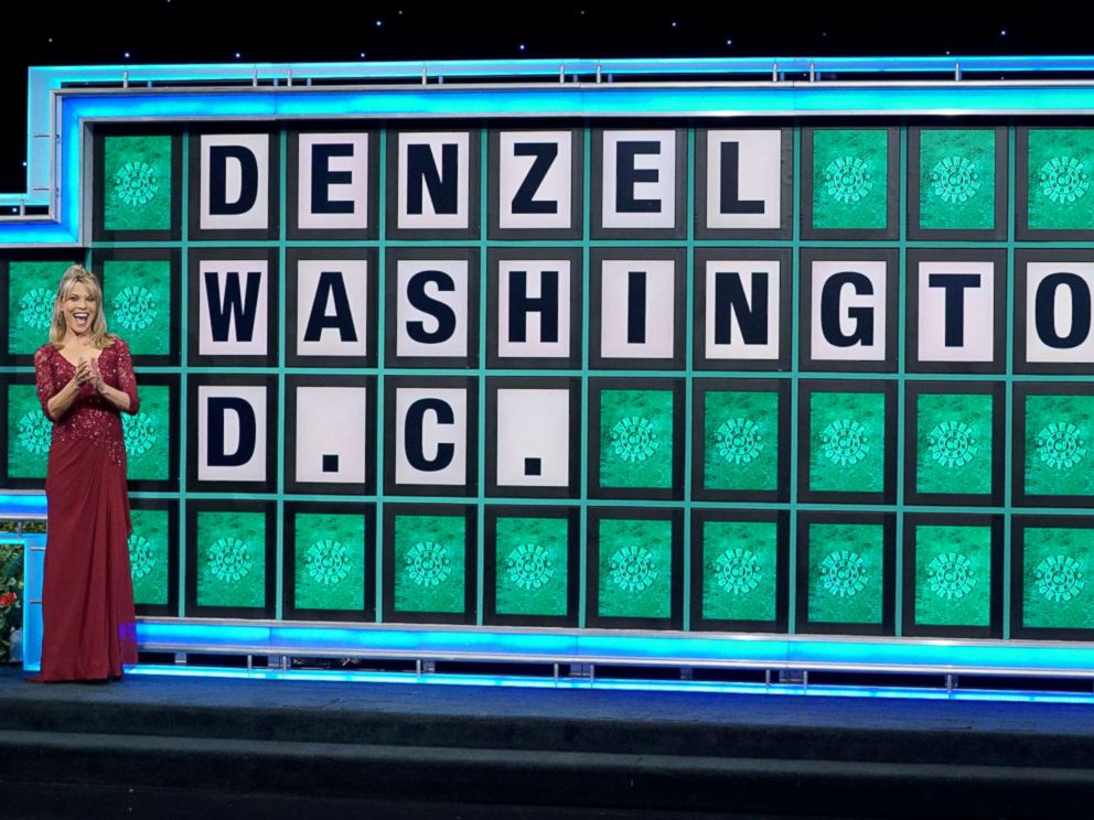 Vanna white wheel of fortune first