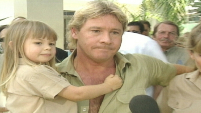 VIDEO: Steve Irwins final spoken words are revealed by his friend.