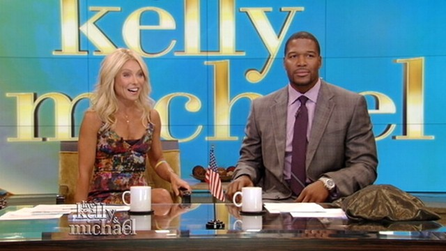 VIDEO: Former NFL player is selected as Kelly Ripa's new morning co-host.