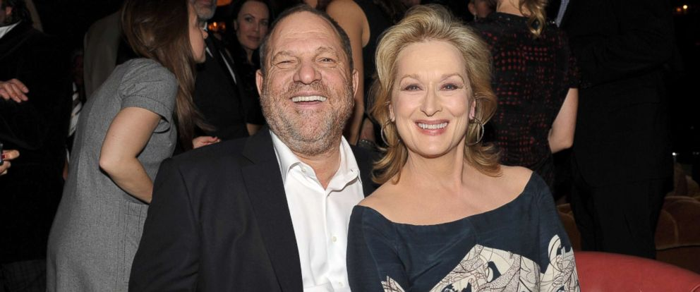 PHOTO: Harvey Weinstein and actress Meryl Streep attend the Australian Academy Of Cinema And Television Arts International Awards Ceremony at Soho House, Jan. 27, 2012, in West Hollywood, Calif.