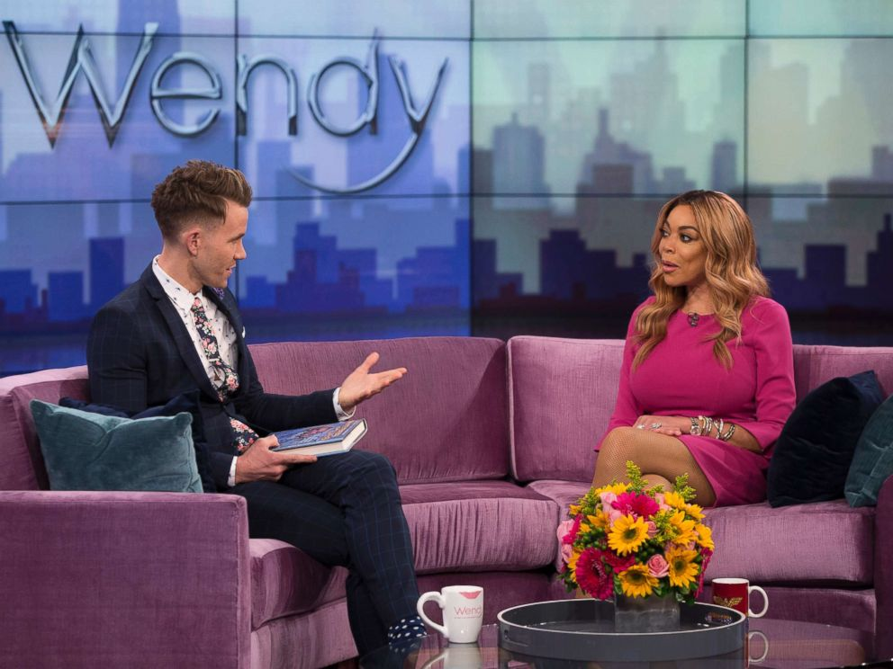 PHOTO: Christopher J. Hanke and Wendy Williams on the Wendy Williams Show, May, 2, 2017.