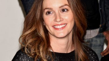 Finally! Leighton Meester Reveals Her Wedding Ring