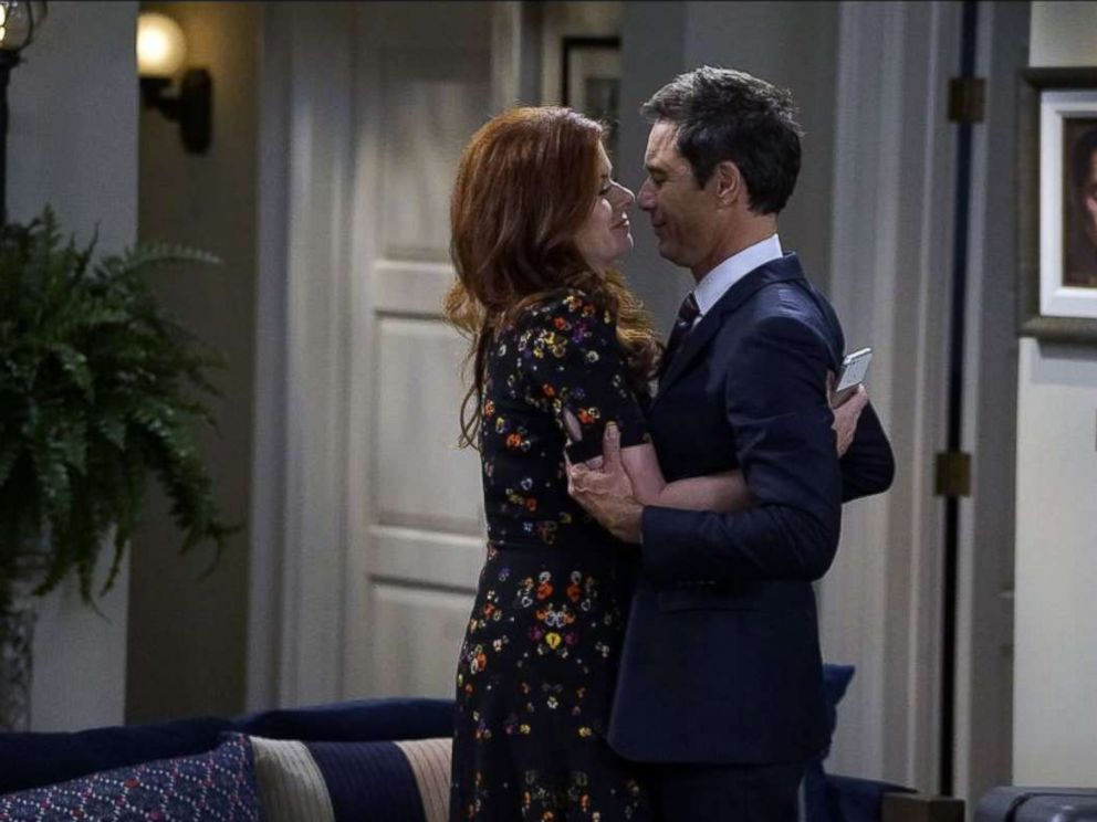 PHOTO: Eric McCormack and Debra Messing in Will & Grace.