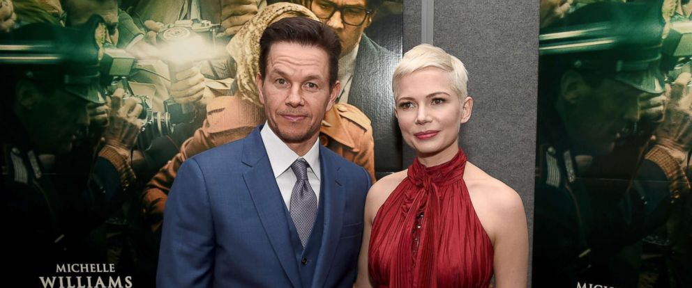 "PHOTO: Mark Wahlberg and Michelle Williams attend the premiere of Sony Pictures Entertainments ""All The Money In The World"" at Samuel Goldwyn Theater, Dec. 18, 2017, in Beverly Hills, Calif."