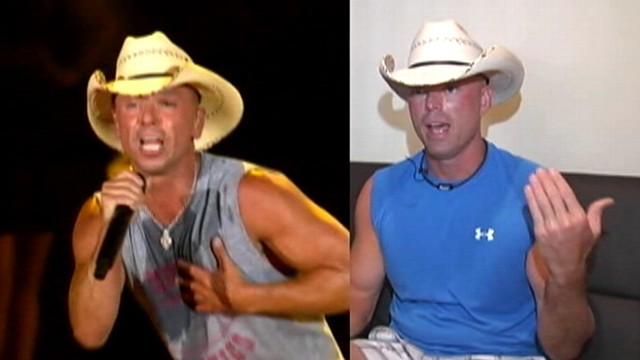 VIDEO: Tennessee man told his resemblance to country star was a security disturbance.