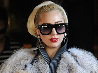 Photos: Lady Gaga Covered in Fur