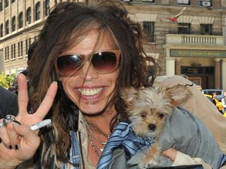 Photos: Steven Tyler's Furry Friend