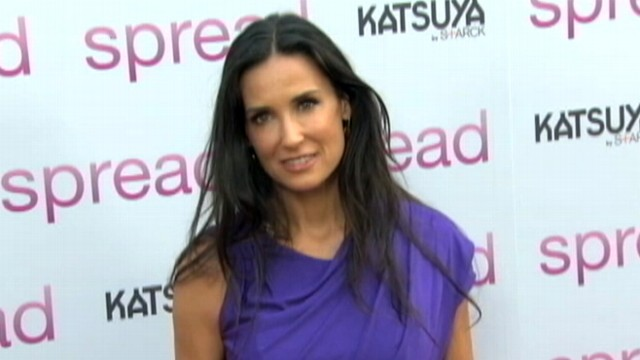 VIDEO: Demi Moore uses Twitter to share photo of herself lying in bed.
