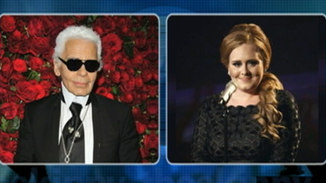 VIDEO: Karl Lagerfeld says Adele is a little too fat.