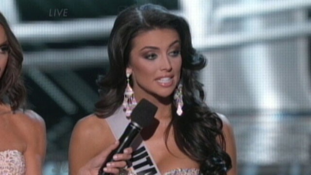Video: Miss Utah Flubs Inequality Question at Pageant