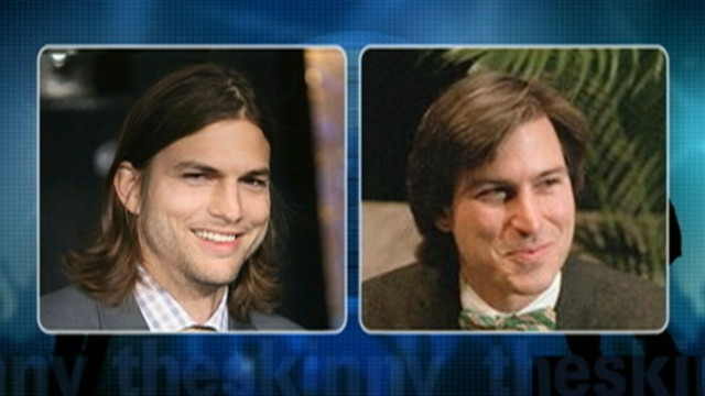 VIDEO: Ashton Kutcher is slated to play the visionary Apple CEO on film.