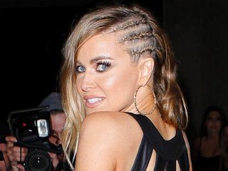 Photos: Carmen Electra Sports Cornrows