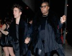 PHOTO: Magic Johnsons son, E.J. steps out in Hollywood with a male companion, April 1, 2013.