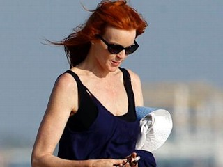Photos: Marcia Cross Flashes Underwear