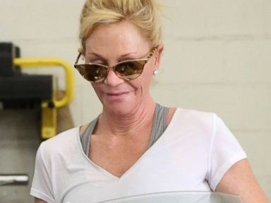 Melanie Griffith Goes Makeup-Free to the Gym