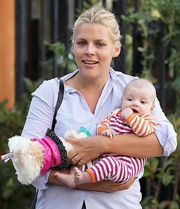 Busy Philipps Introduces Baby Cricket
