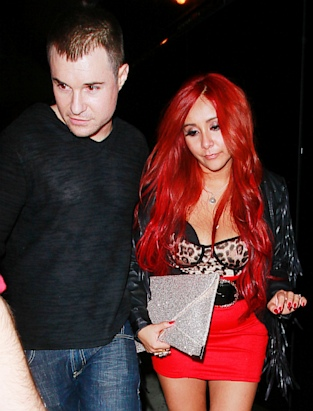 Snooki's Wacky Outfit