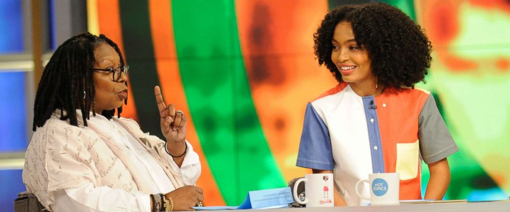 """PHOTO: Yara Shahidi joined """"The View"""" to discuss her new show, """"Grown-ish"""" on Jan. 3, 2018."""