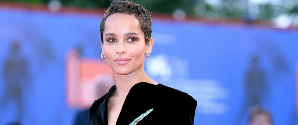 """PHOTO: Zoe Kravitz attends the premiere of """"Racer And The Jailbird (Le Fidele)"""" at the 74th Venice Film Festival, Sept. 8, 2017, in Venice, Italy."""