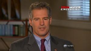 VIDEO: U.S. senator Scott Brown tells Barbara Walters about his difficult childhood.