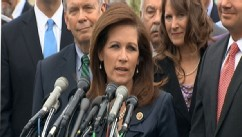 VIDEO: Chair of the Tea Party Caucus discusses IRS scandal, health care, and possible presidential aspirations.