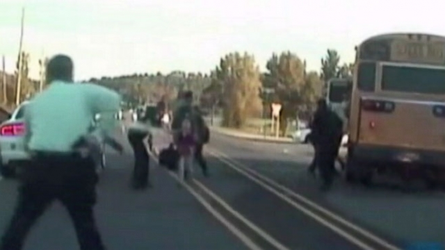 VIDEO: 911 calls and dash cam shows children being rescued with help of hero bus driver.