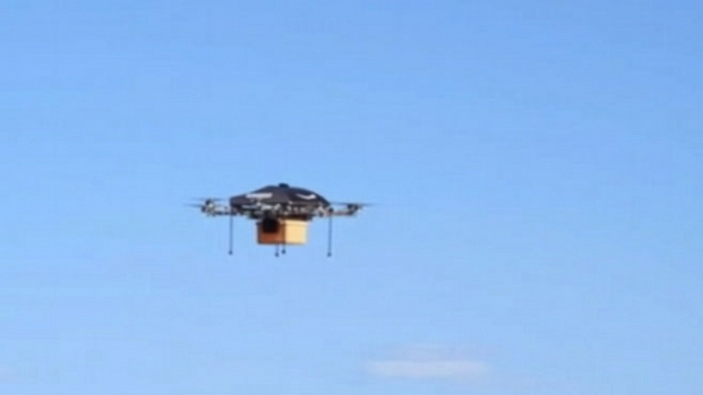 Video: Amazon Plans Drone-Delivery Service