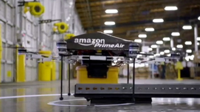 Video: Amazon Prime Air Not the Only Drone Delivery on Horizon