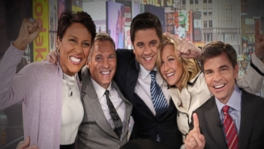 GMA anchors take a fun stroll down memory lane through Sams 25 years with ABC.