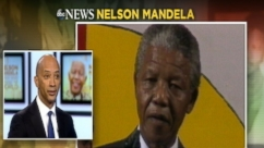 ABC News' Byron Pitts recalls meeting South African peacemaker Nelson Mandela in Boston, Mass.