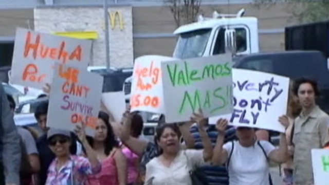 Video: Fast Food Protests Planned in 100 Cities