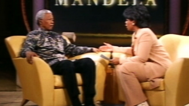 Video: Oprah Winfreys 2000 Interview With Nelson Mandela