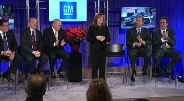 Video: Mary Barra Named First Woman CEO of U.S. Car Company