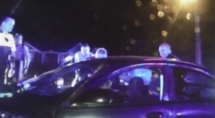 A North Carolina grand jury cleared the officer who was caught on video during a chase.