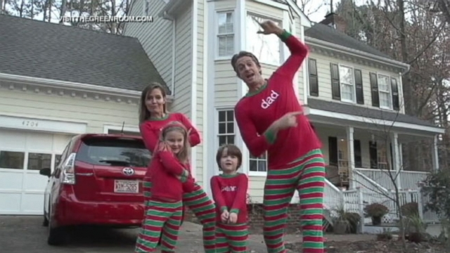 VIDEO:Family Raps Annual Newsletter in Christmas Jammies