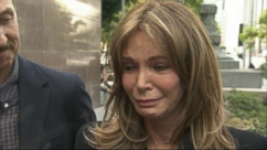 VIDEO: Jaclyn Smith testified in court battle over ownership of an Andy Warhol portrait of Farrah Fawcett.